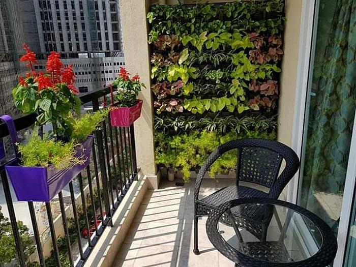jardim vertical em apartamentos 1 - JARDINS VERTICAIS : 12 DICAS Úteis de Design