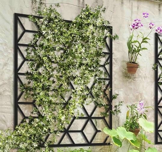 jardim vertical facilmente alcançável 1 - JARDINS VERTICAIS : 12 DICAS Úteis de Design