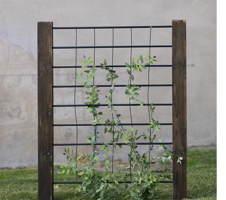 jardim vertical treliça 1 - JARDINS VERTICAIS : 12 DICAS Úteis de Design
