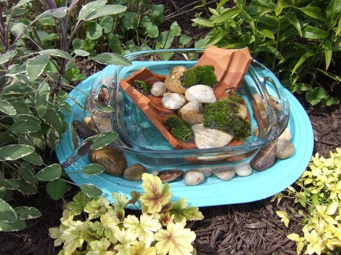 banho para abelhas5 - POLINIZADORES: UAU! 3 Passos pra atrair ao seu Jardim!