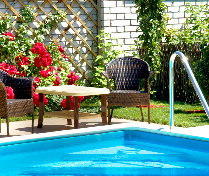 12 Ideias de projeto de jardim para uma area de piscina - 12 IDEIAS De Projeto de Jardim para uma ÁREA DE PISCINA