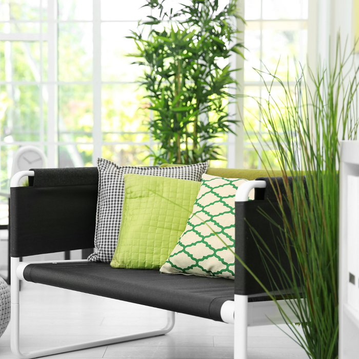 Combinando cores e plantas2 - PLANTAS DE INTERIOR - Conheça 7 CORES para Complementar